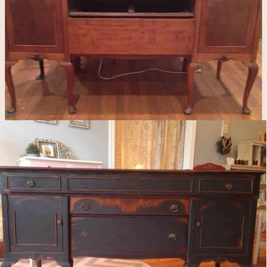 distressed furniture